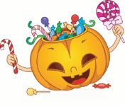Cuento sobre Halloween y los dulces