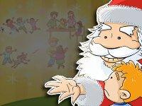 Cuento sobre Papá Noel y sus regalos