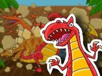 Un cuento sobre dinosaurios